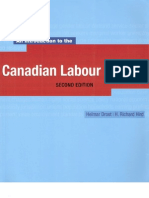 Canadian Labour Market Second Edition