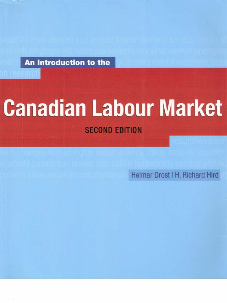 Canadian labour market second edition labour economics employment fandeluxe Image collections