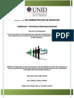 Proyecto Liderazgo y Procesos Organizacionales Final