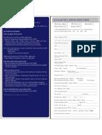 Alfalah Visa Application Form