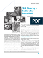 SME Financing – Need for a New Business Model