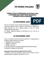 verbale elezioni regionali