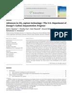 Advances in CO2 capture technology - The U.S. Department of Energy's Carbon Sequestration Program. Figueroa, Jose, et. al. Elsevier Ltd. 2007