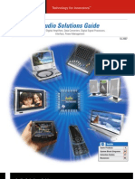Audio Solutions Guide