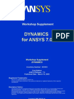 Dynamics 70 Workshops