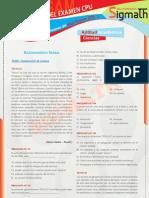 Aptitud Academica - Preguntas Del 2do Examen CPU-UNASAM 2011 - I