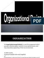 OB Organisational Design