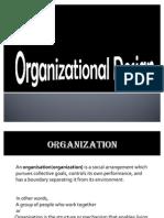 OB Organisational Design
