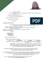 Model Cv Curriculum Vitae European Romana (2)