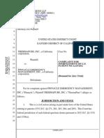 ThermaPure v. Pinnacle Emergency Management