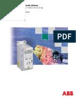 ACS150 ABBcomponentdrives Technical Catalogue REVC En