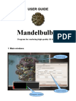 Mandelbulber User Guide
