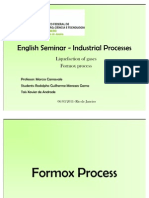 English Seminar - Industrial Processes