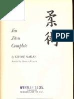 Jiu Jitsu Complete (Kito-Ryu) - Kiyose Nakae 1958