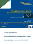 """Presentación del XVIII Congreso Comce-Puebla """"Doing Business en Mexico"""" por el Lic. Frederic Bustelo"""