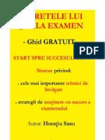SECRETELE_LUI_10_LA_EXAMEN