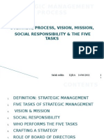 SESSION 1 Strategic Management Process 14 JUN 11