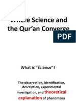 Where Science and the Qur'an Converge