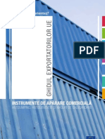 Ghidul Exportatorilor UE - Instrumente de Aparare Comer CIA La