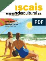 Agenda Cultural n.º 51 - Julho e Agosto 2011