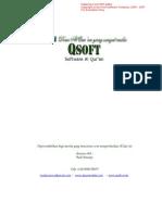 ScreenShots of Qsoft and AlQurandata.com project