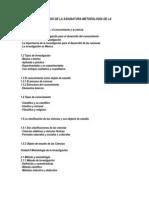Apuntes Completos Del Programa de Metodologia