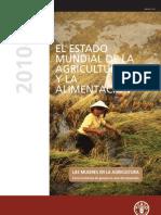 Estado Mundial de la Agricultura y la Alimentación. LAS MUJERES EN LA AGRICULTURA