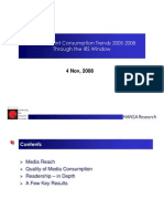 Media & Print Trends 2005 to 2008