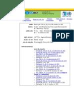Resolução RDC nº 302, de 13 de outubro de 2005