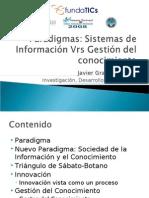Paradigmas- Información vrs Conocimiento Full Version Junio 2008