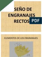 PROYECTOS DE MAQUINAS-DISEÑO DE ENGRANAJES