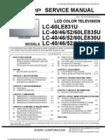 7124742-Sharp Lc-40le830u 46le830u 52le830u 60le830u Service Manual Repair Guide[1]
