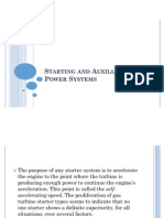 Starting and Auxiliary Power Systems