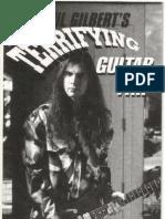 Paul Gilbert - Terrifying Guitar Trip Guitar Tabs