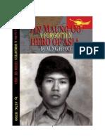 Tin Maung Oo ~ a Forgotten Hero of Asia - By U Aung Htoo - Burmese