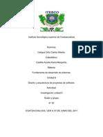 unidad 6 diseño y arquitectura de proyectos de software