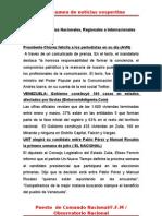 Resumen de Noticias Vesper Ti No 27-06-2011