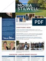 Moira Stilwell June 2011 Newsletter