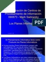 Los Planes Informaticos