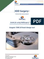 HddSurgery Seagate 7200.10 Head Change Tool