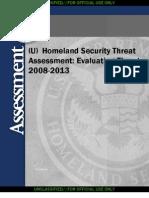 DHS Threats 2008-2013