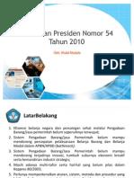 sosialisasiperpres54tahun2010-110215084515-phpapp02