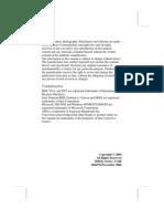 M963G Motherboard Manual ECS / PCChips M963G (3.0B) English