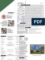 06-25-11 Bulletin