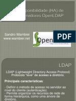Replicação OpenLDAP - Alta disponibilidade (HA)