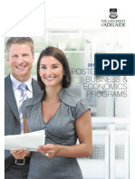2012 Postgraduate Business & Economics Quick Guide