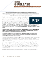 9-11-08 Sunday game press release