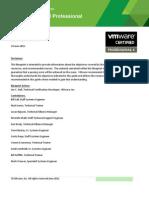 VCP410 Exam Blueprint Guide 1.8