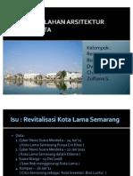 Tugas 1-Revitalisasi Kota Lama Semarang