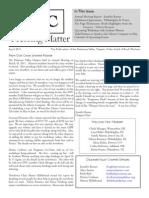 DVC-GBW April 2011 Newsletter
